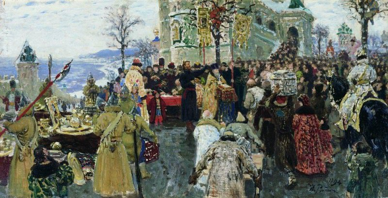 Кузьма Минин. 1894. Илья Ефимович Репин