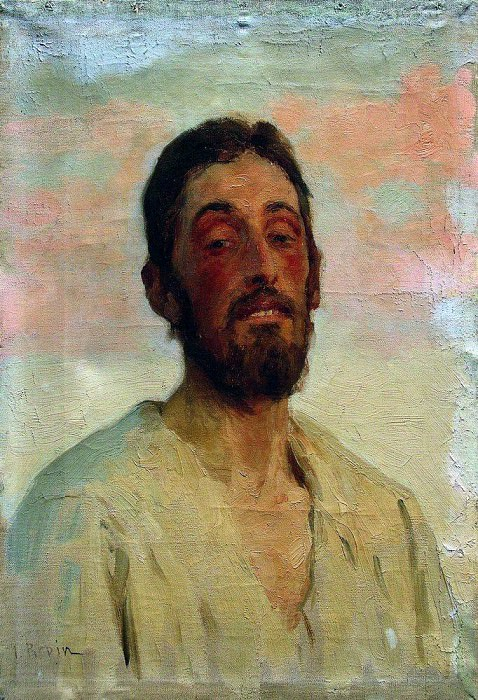 Portrait of a Man. 1890. Ilya Repin