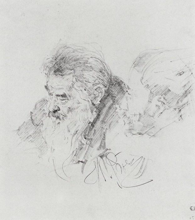 VI Shishkin at a meeting of the Academy of Arts. 1895. Ilya Repin