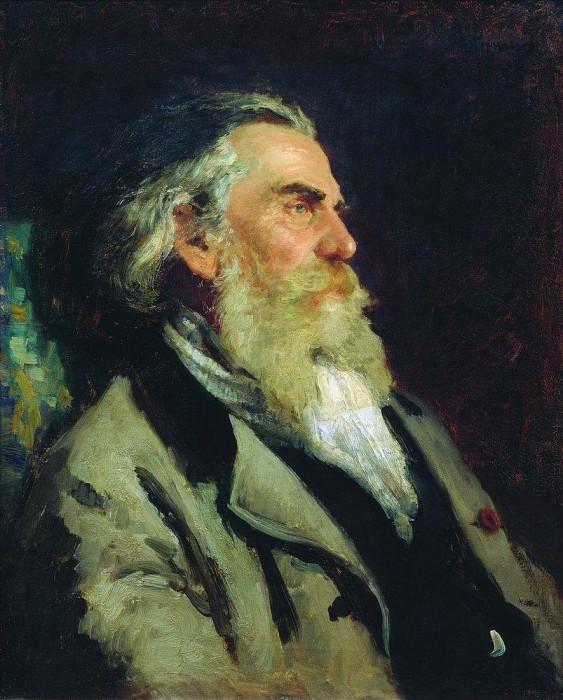 Portrait AP Bogolyubov. 1882. Ilya Repin
