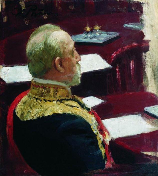 Портрет М. Н. Галкина- Враского. 1903. Илья Ефимович Репин