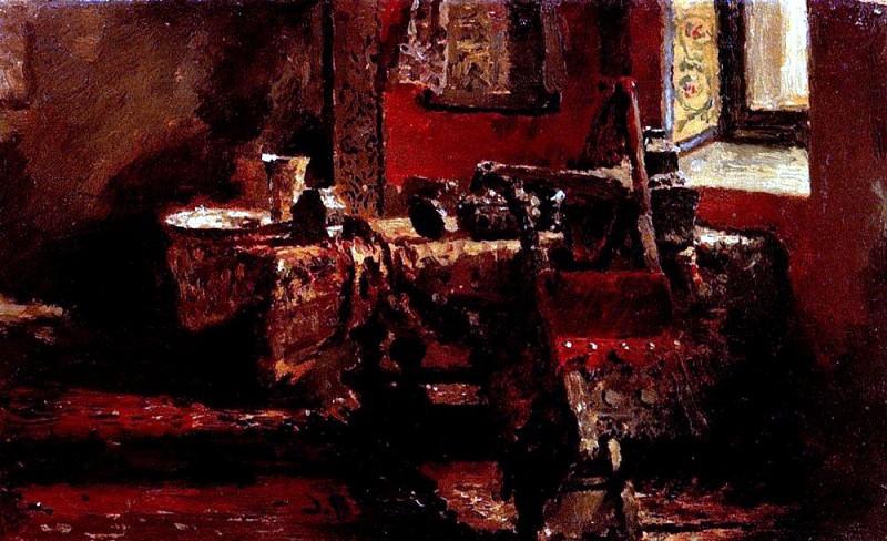 Interior. 1883. Ilya Repin