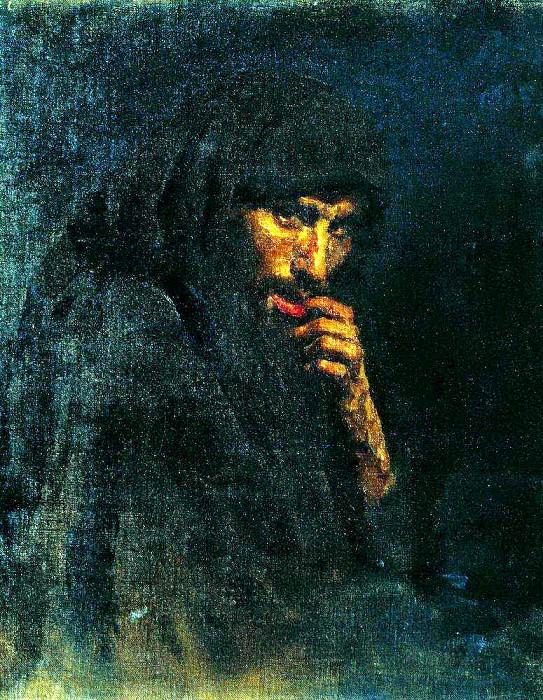 Judas. 1885. Ilya Repin
