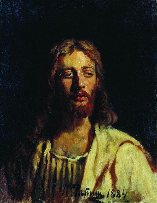 Christ. 1884. Ilya Repin