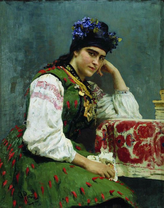 Portrait of Sophia. 1889. Ilya Repin