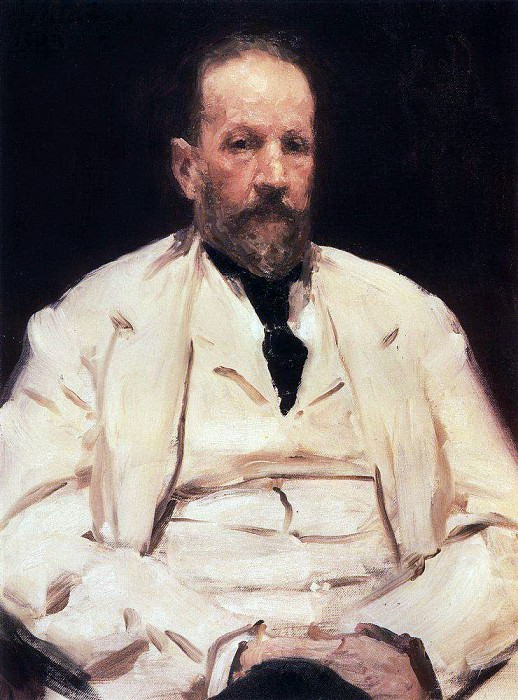 Portrait of the Minister of Finance Sergei Witte. 1903. Ilya Repin