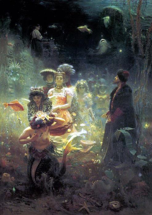 Sadko. 1876. Ilya Repin