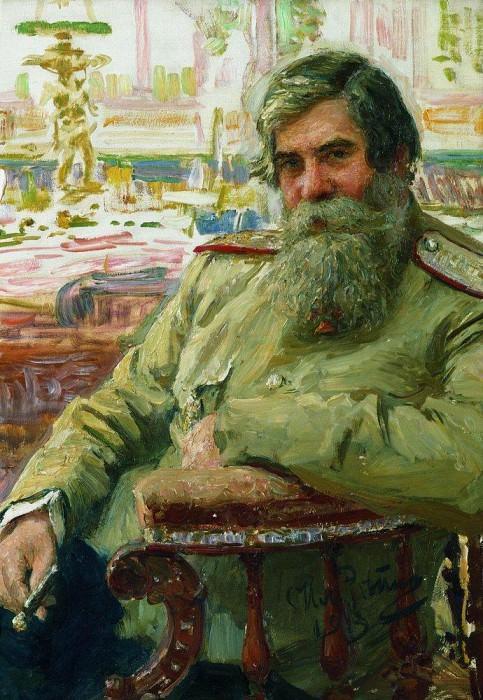 Portrait of a neurologist and psychiatrist Bekhterev. 1913. Ilya Repin