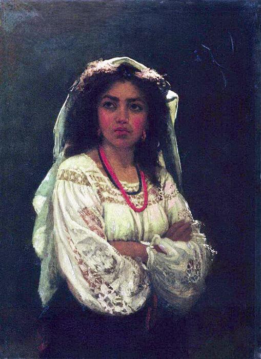 Italiana. Ilya Repin
