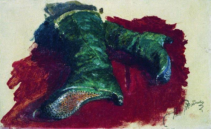 Boots prince. 1883. Ilya Repin