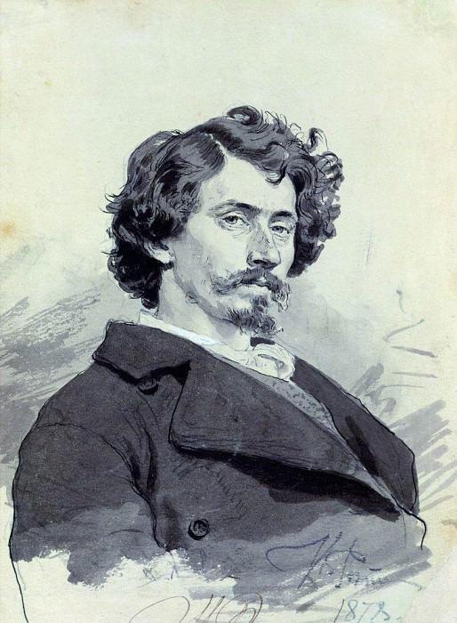 Self 1. 1878. Ilya Repin