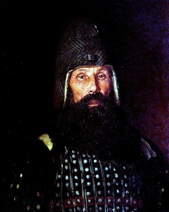 Warrior XVII century. 1879. Ilya Repin