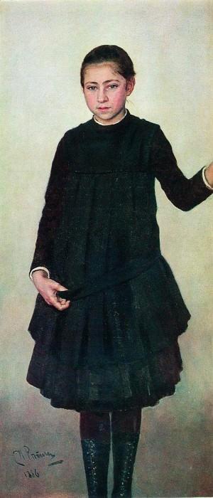 Portrait of Ilya Repin. 1886. Ilya Repin
