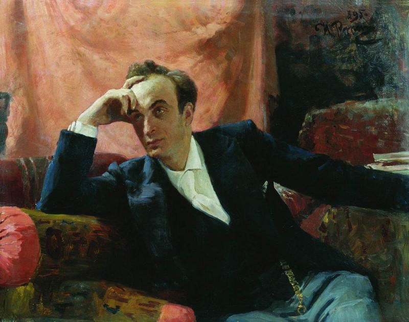 Портрет артиста Г. Ге. 1895. Илья Ефимович Репин