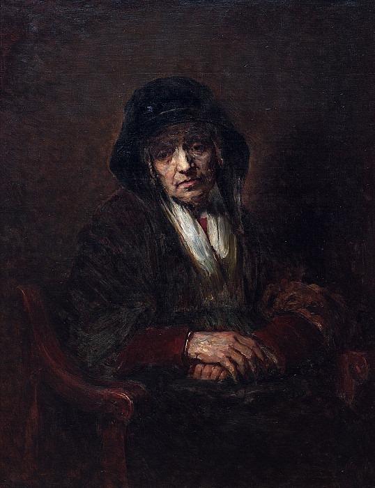 Портрет старушки. Илья Ефимович Репин