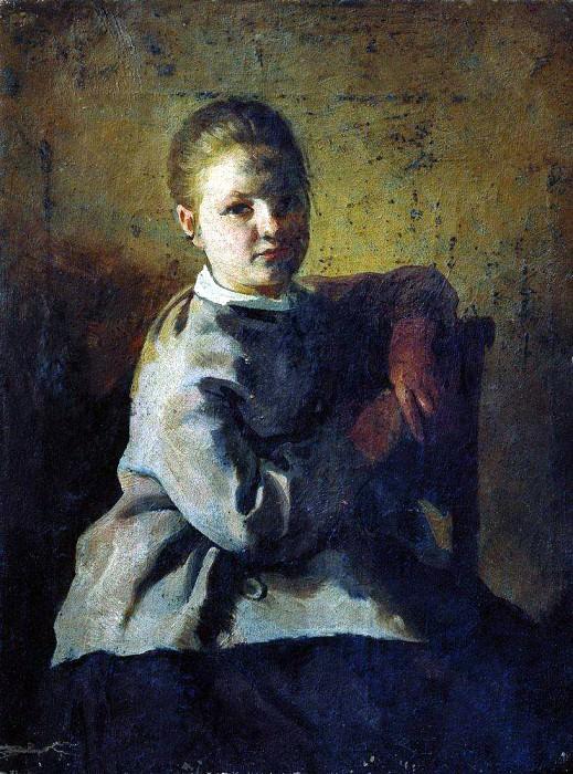 Портрет С. А. Репиной. 1878. Илья Ефимович Репин