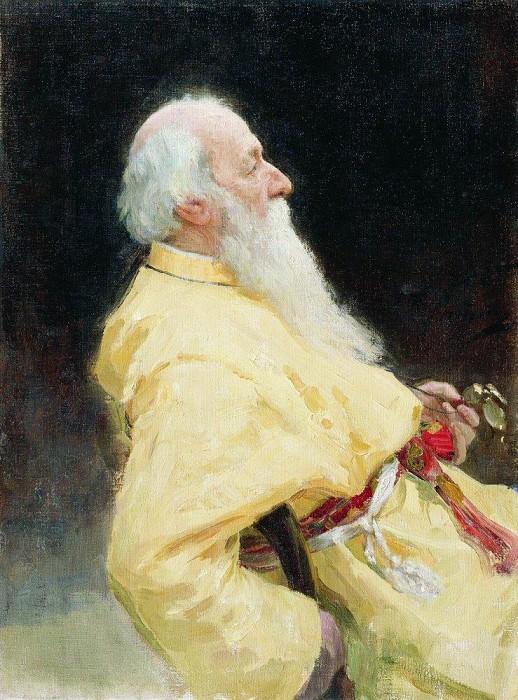 Портрет В. В. Стасова. 1905. Илья Ефимович Репин