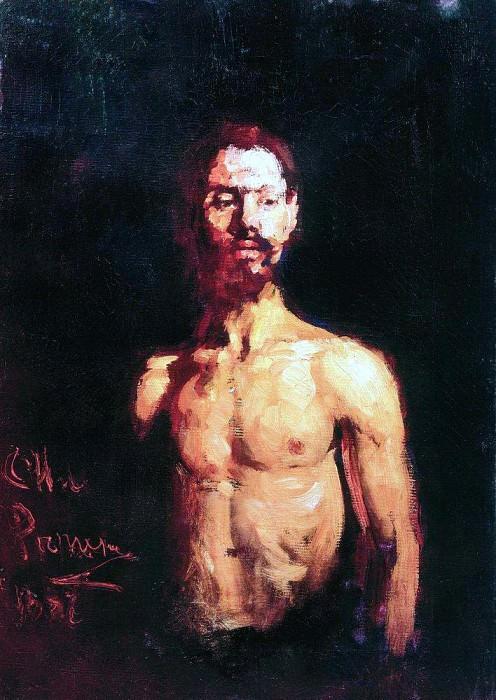 fireman. 1887. Ilya Repin