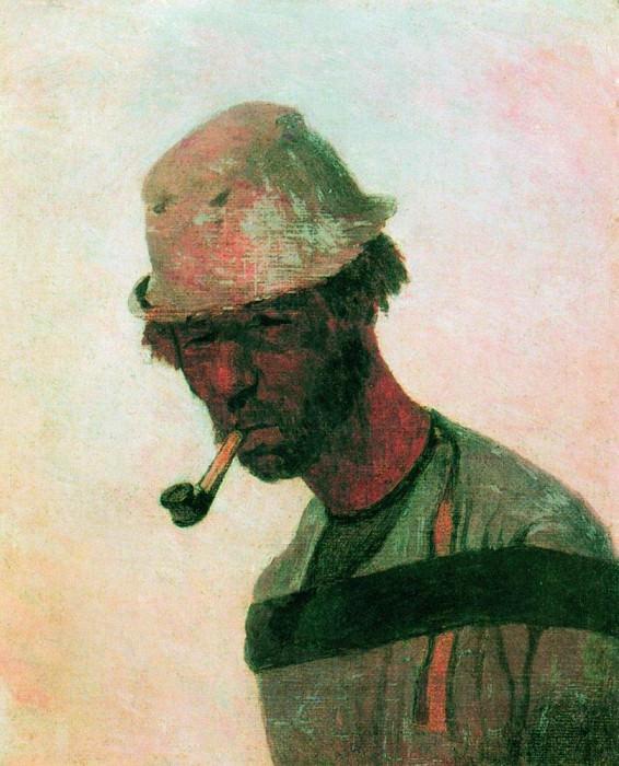 Бурлак 1. 1870. Илья Ефимович Репин