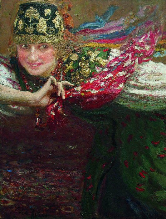 Dancer. 1920. Ilya Repin