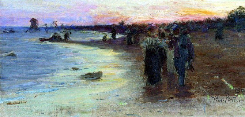 On the Gulf of Finland. 1903. Ilya Repin
