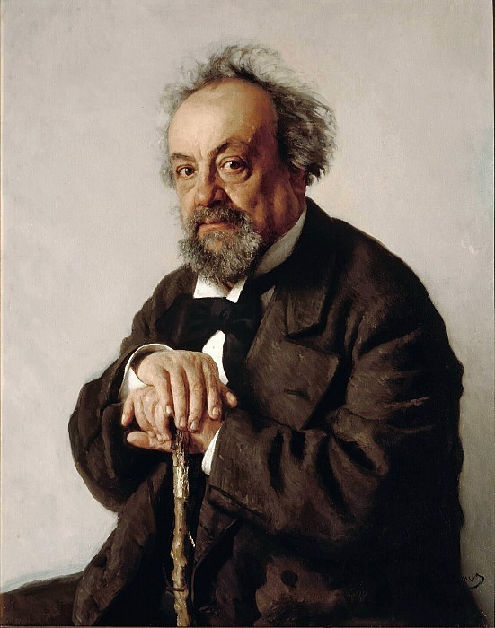 Portrait of the writer A.F. Pisemsky. Ilya Repin