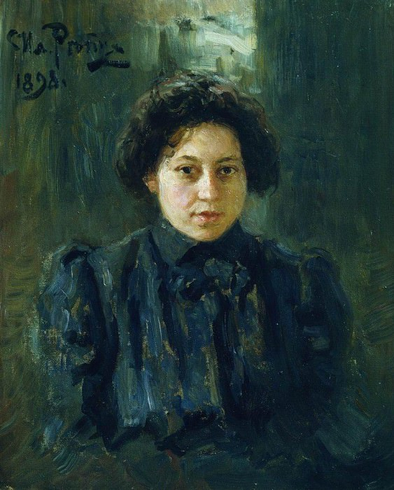 Portrait Repina, daughter of the artist. 1898. Ilya Repin