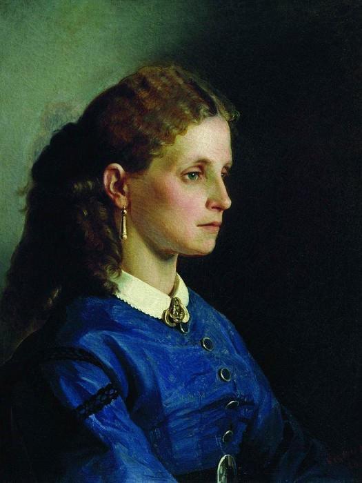 Portrait Janicki. 1865. Ilya Repin