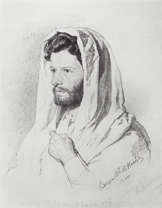 M. M. Antokolsky. 1866. Ilya Repin