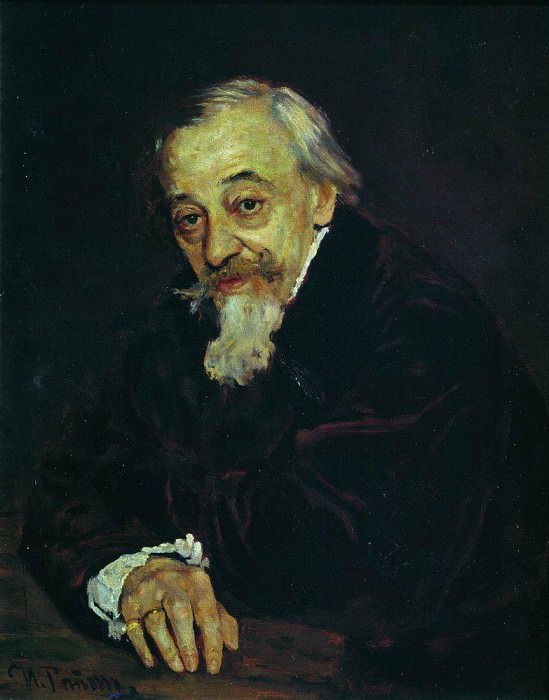 Portrait artist Vladimir Samoilov. 1,902. Ilya Repin