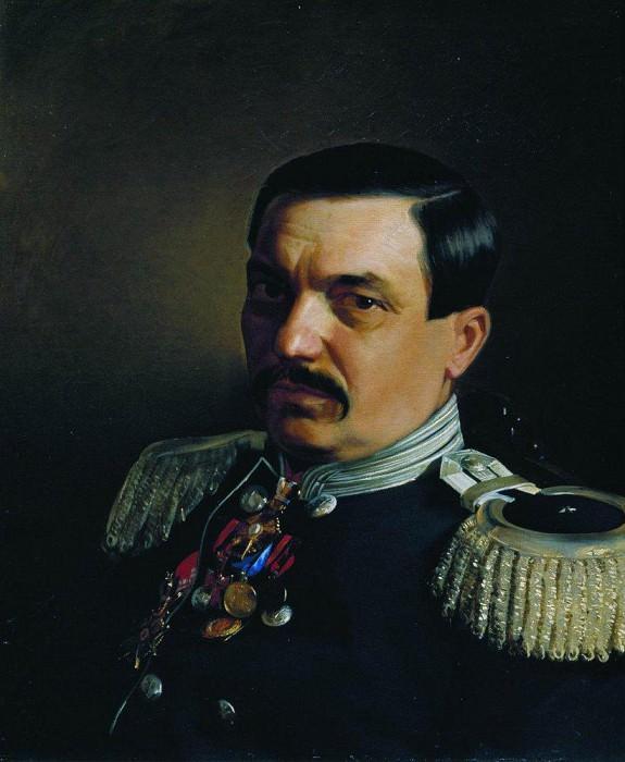 Portrait of Doctor Constantine Frantsevich Janicki. 1865. Ilya Repin