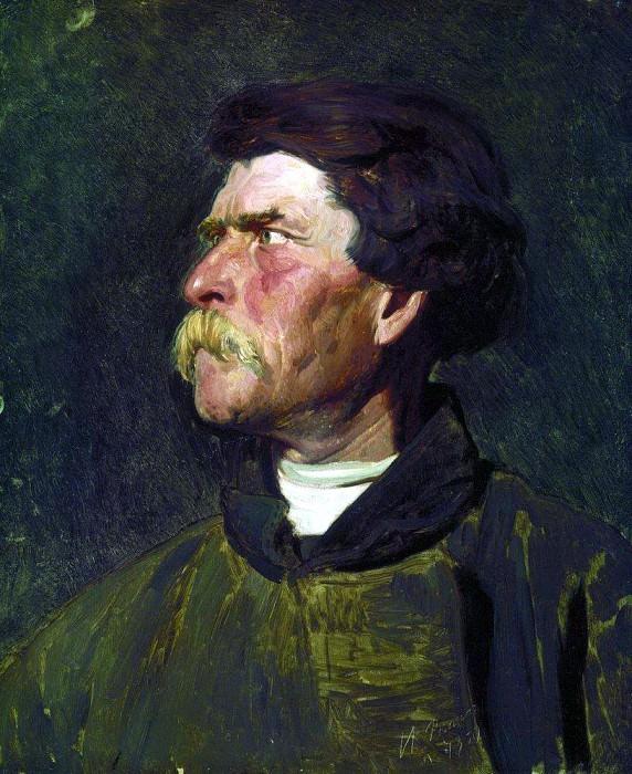 head farmer. Ilya Repin