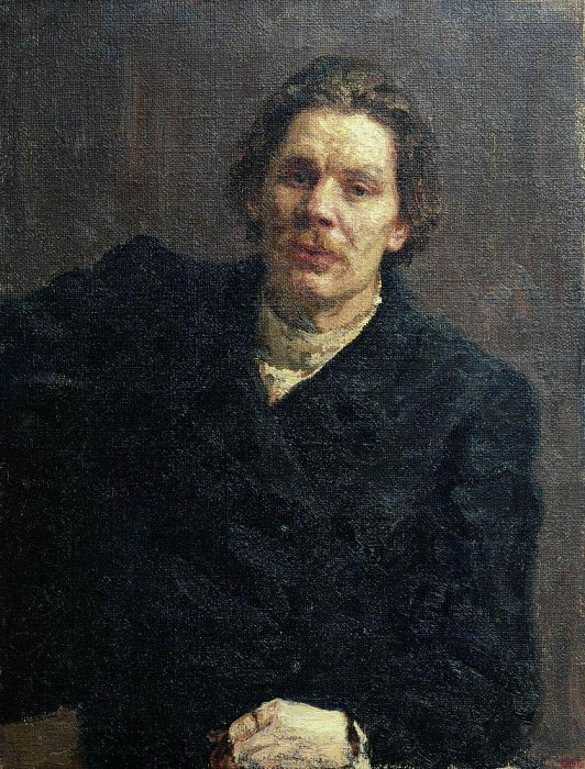 Portrait of Maxim Gorky. 1899. Ilya Repin