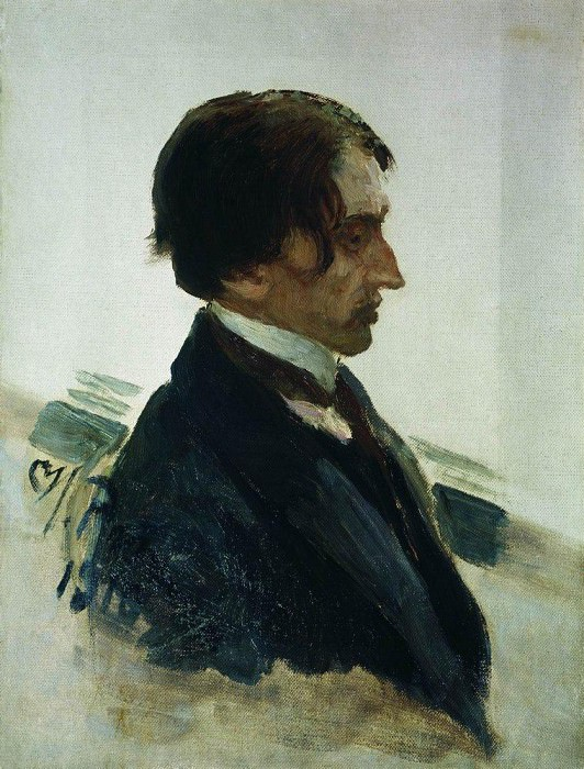 Portrait of the Artist I. Brodsky. 1910. Ilya Repin