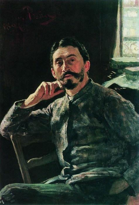 Self-portrait. 1894. Ilya Repin