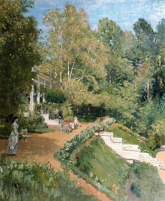 Abramtzevo. 1880. Ilya Repin