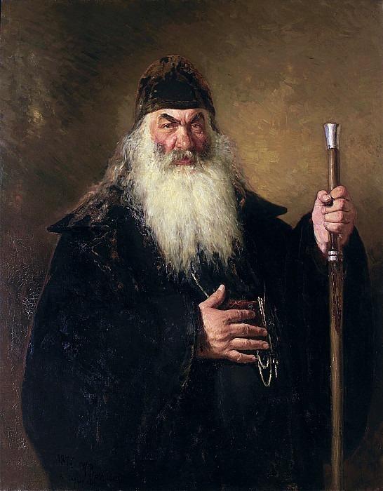 Protodeacon. Ilya Repin