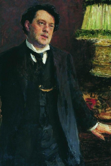 Portrait of a lawyer OO Gruzenberg. Ilya Repin