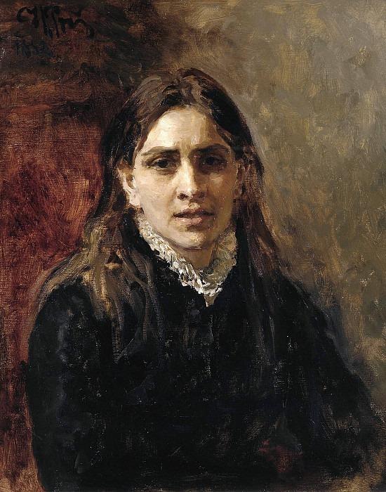 Actress Pelageya Antipovna Strepetova (1850-1903). Ilya Repin