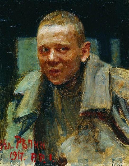 deserter. 1917. Ilya Repin