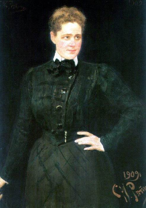 Portrait of Countess SV Panina. 1909. Ilya Repin