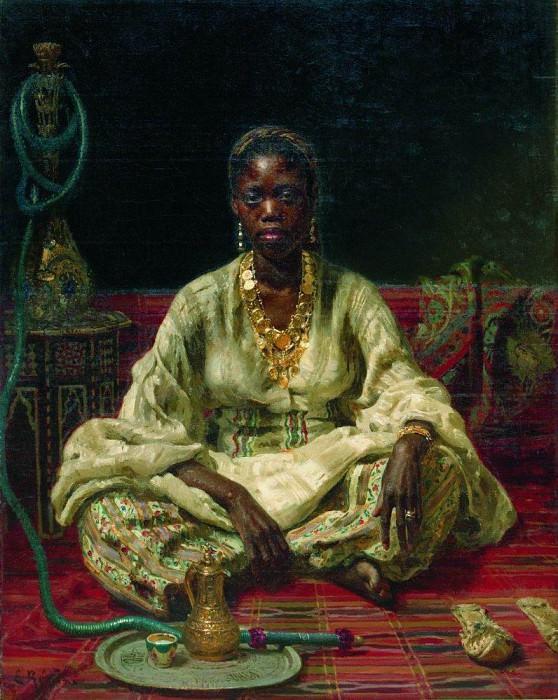 Negress. 1876. Ilya Repin