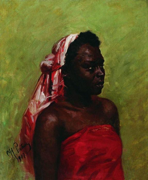 Negress. 1907. Ilya Repin