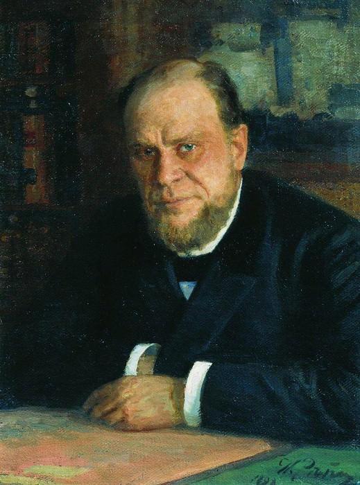 Портрет А. Ф. Кони. 1898. Илья Ефимович Репин