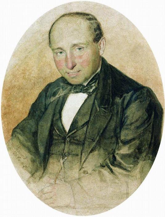 Portrait of Dr. G. Kostrova. Ilya Repin