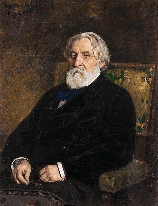 Portrait of the writer I.S. Turgenev. Ilya Repin