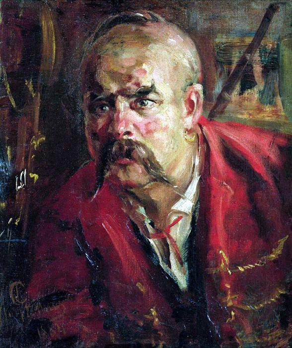 Запорожец. 1884. Илья Ефимович Репин
