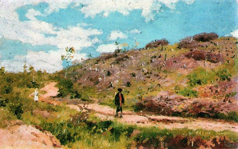 Summer landscape in the Kursk province. 1876-1915. Ilya Repin
