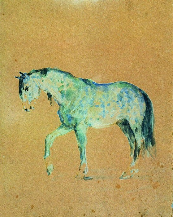 Horse. Ilya Repin