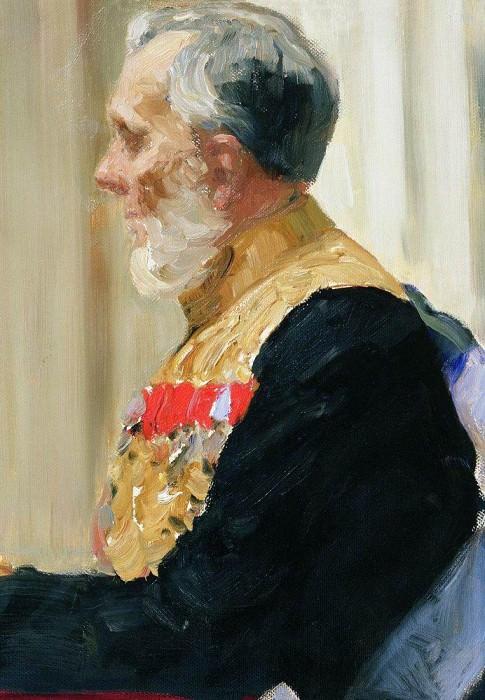 Portrait of Earl K. Palena. 1903. Ilya Repin